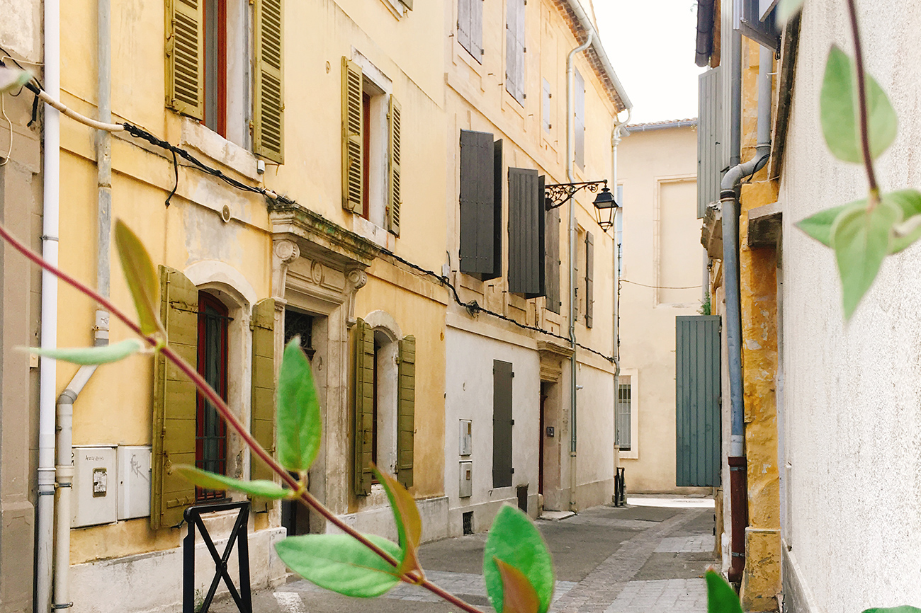 Bienvenue à Arles